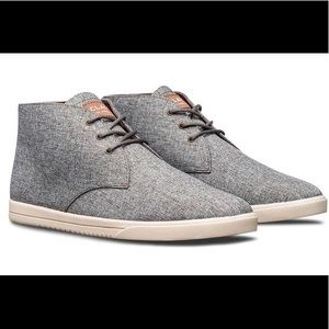 Clae Grey Strayhorn Textile Lace Up Shoes - 10